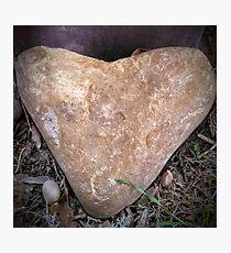Heart Doorstop Photographic Print