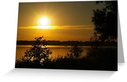 Onondaga Lake Sunset by Dan Phelps