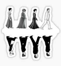 Downton Abbey Road Sticker