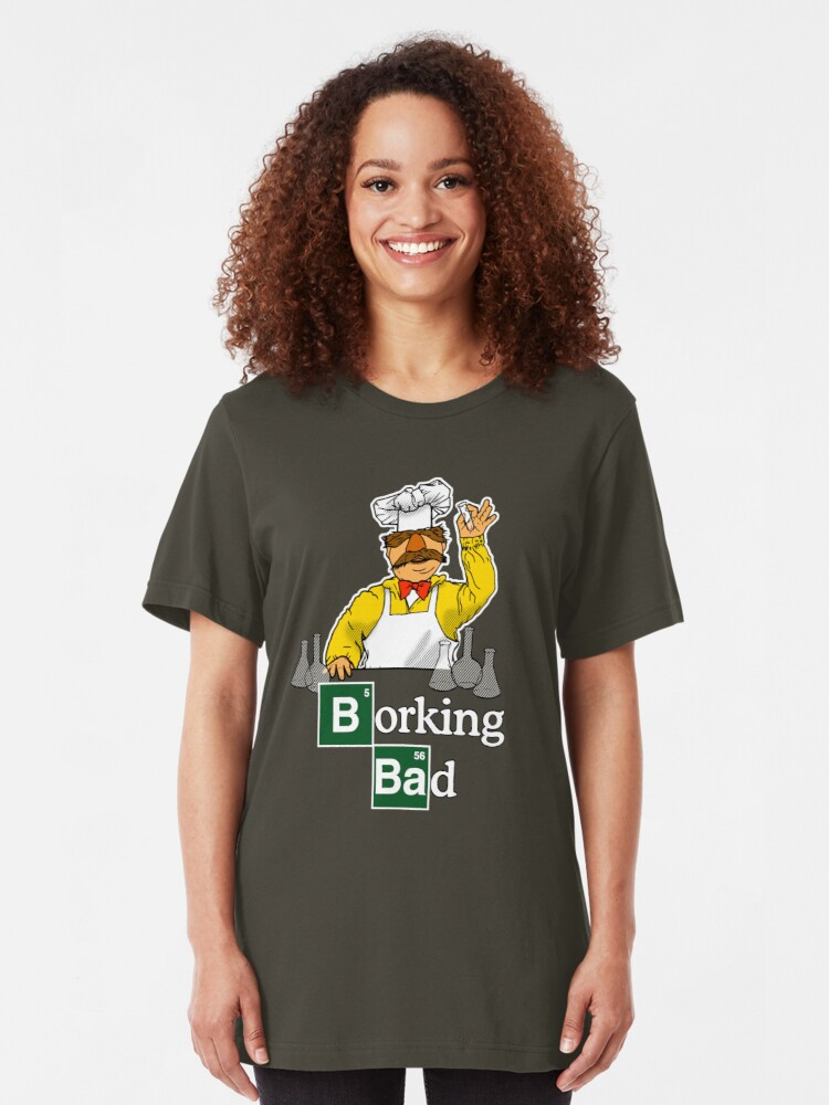 Alternate view of Borking Bad Slim Fit T-Shirt