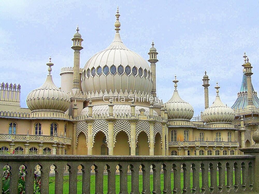 The Royal Pavilion - Brighton, England by Carla Shirley