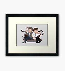 Medical (B)romance Framed Print