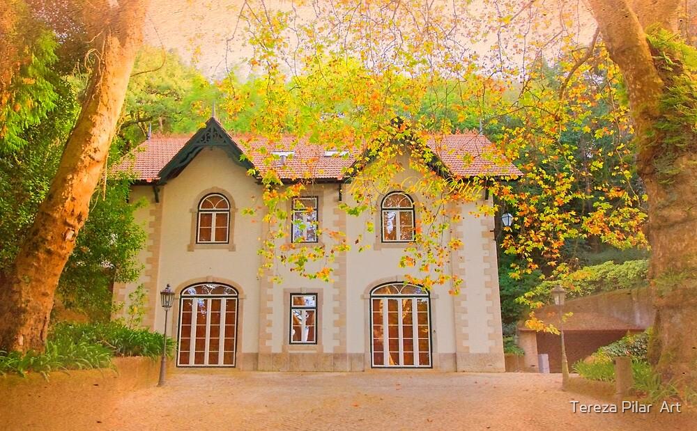 chalet in autumn by terezadelpilar ~ art & architecture