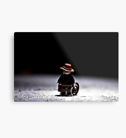 Indiana Alones Metal Print