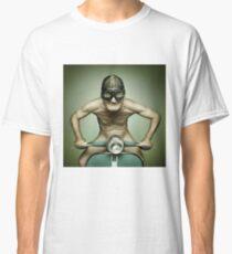 Scooter Man Shirt Classic T-Shirt