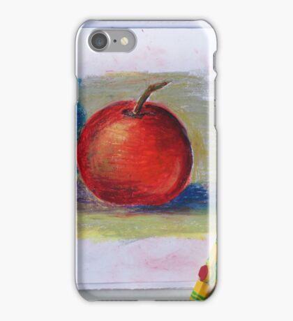 Petit Exercice En Pastel L'huile iPhone Case/Skin