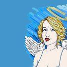 Angel  by iskamontero
