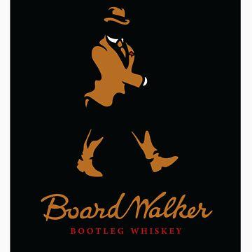 Board Walker Whiskey - STICKER by WinterArtwork