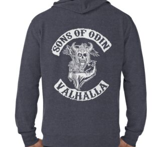 Sons Of Odin Valhalla Chapter Pullover Hoodies By