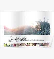December 2013 - Lost for Words Calendar Poster