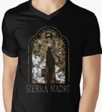 Sierra Madre [Distressed] Men's V-Neck T-Shirt