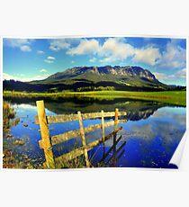 Tasmania, Mt Roland Poster