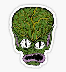 Saucer Man Sticker