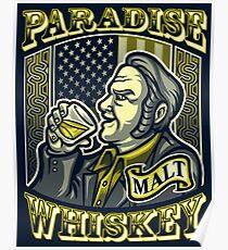 Paradise Whiskey Poster