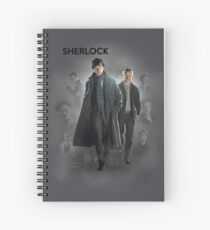 BBC Sherlock Spiral Notebook