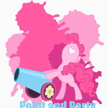 Pinkie Party Cannon: Point and Party! by Fluttershy808