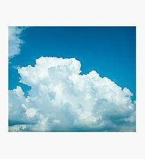 Blue skies 1 Photographic Print