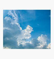 Blue skies of mine... Photographic Print