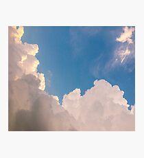 Pink skies Photographic Print