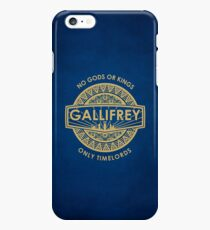 Gallifrey - No Gods or Kings, only Timelords iPhone Case iPhone 6s Plus Case