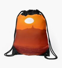 Sun Kissed in Byron Bay Drawstring Bag