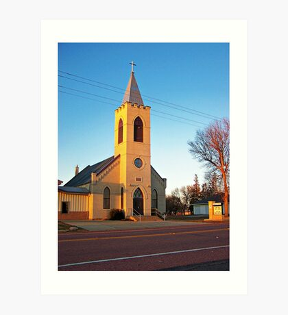 Trinity Lutheran Church Art Print