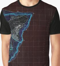 USGS TOPO Map Guam Pati Point 462407 2000 24000 Inverted Graphic T-Shirt
