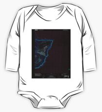 USGS TOPO Map Guam Pati Point 462407 2000 24000 Inverted One Piece - Long Sleeve