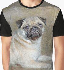 Pug Pose Graphic T-Shirt