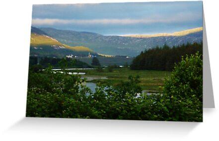 Enchanting Dunlewey Donegal  by Sean McAughey