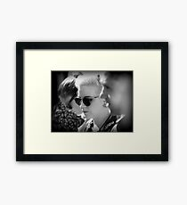 A 1950's look in 2012 Framed Print