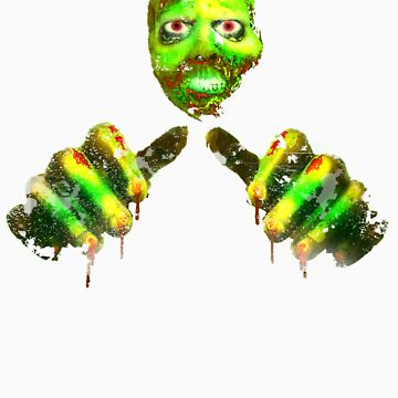 Toxic Zombie - Halloween T Shirt by WhiteCurl
