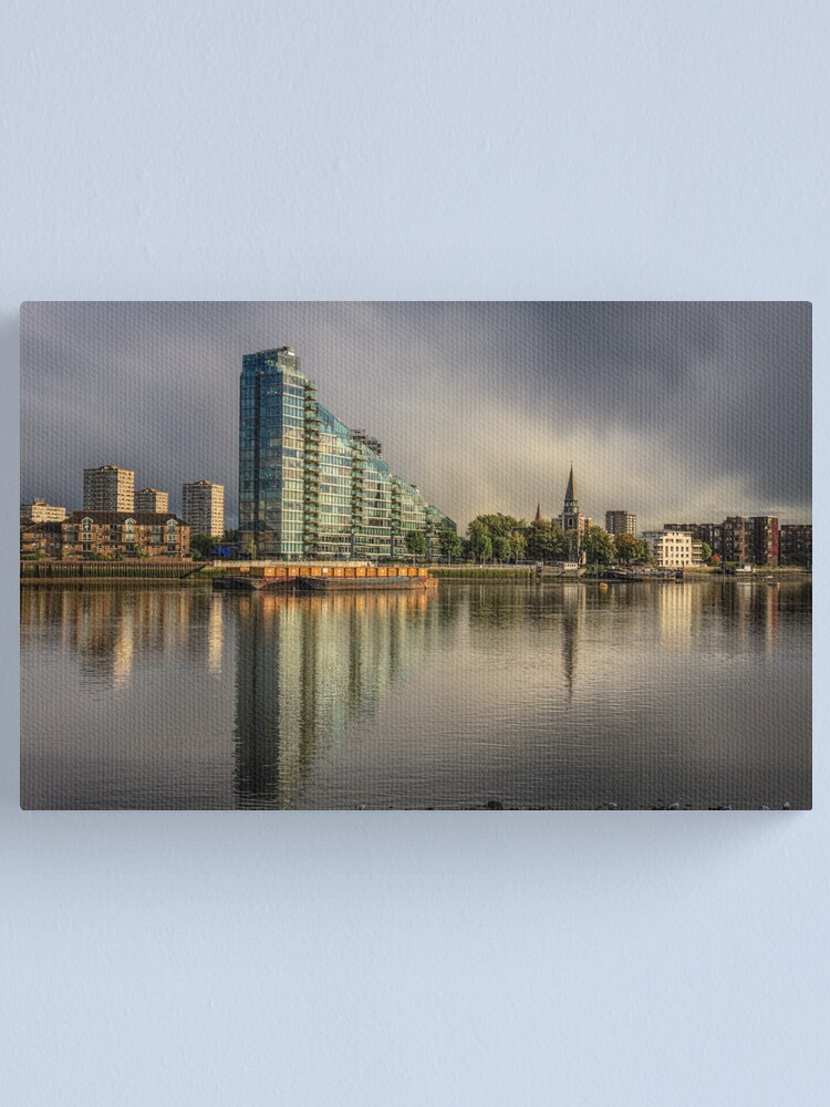 Alternate view of River View Canvas Print