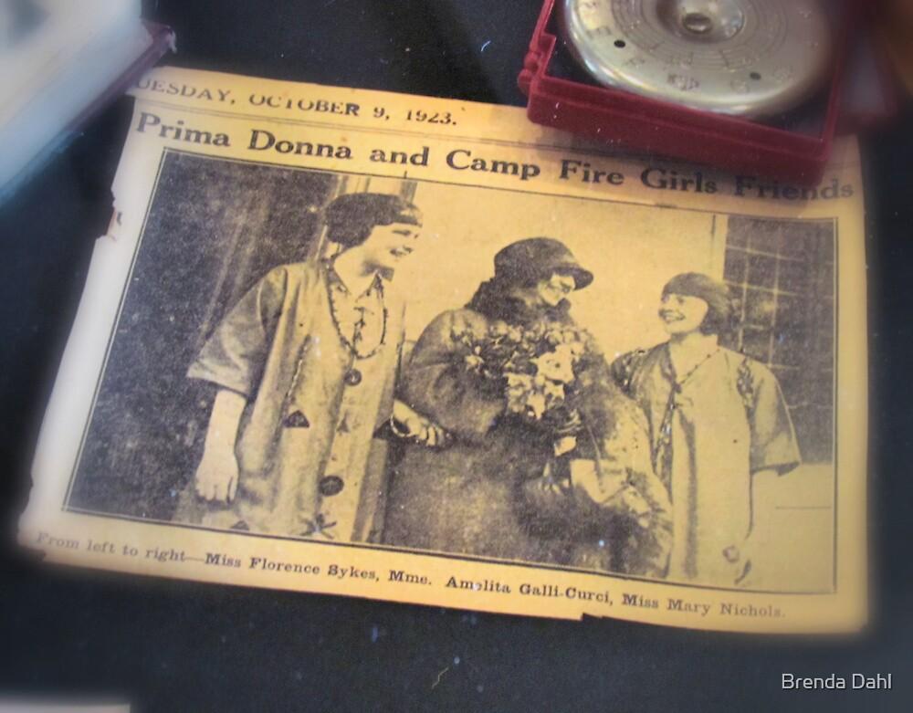 Vintage Ladies from the year 1923 by Brenda Dahl