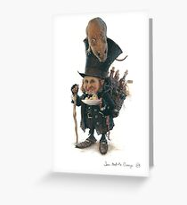Little Master-Mice Greeting Card