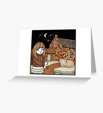 Belle & Binky (Barra Kirk) Greeting Card