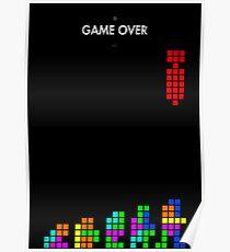 99 Steps of Progress - Game over Poster