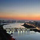 Pyongyang by Night by Kasia Nowak