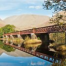 Bridge Across Loch Awe by Sue Knowles