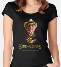 Lord of the Dings Women's Fitted Scoop T-Shirt