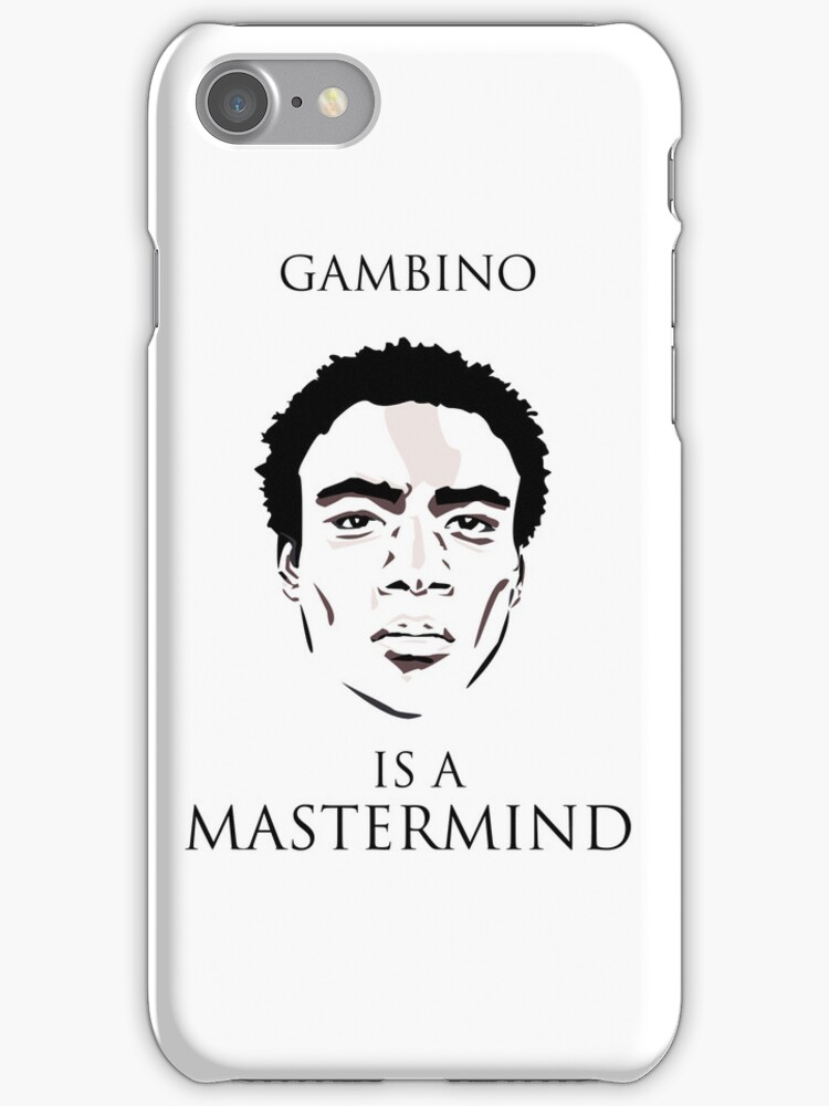 Gambino is a Mastermind  by AccioKaity