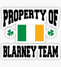 Blarney Sticker