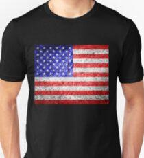 American Flag Grunge  T-Shirt