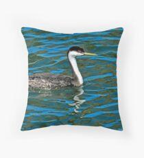 Afternoon Swim Throw Pillow