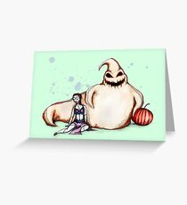 Oogie The Hutt Greeting Card