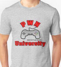 PWN University Gamer gear T-Shirt