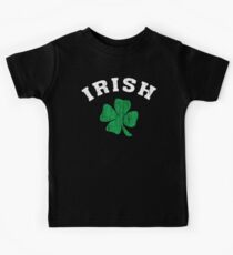 Vintage Irish Shamrock Kids Tee