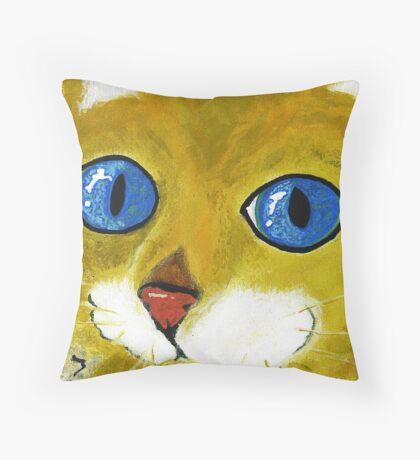 Sabatha's Eyes Throw Pillow