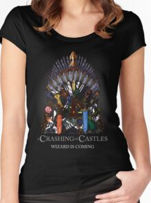 A Crashing of Castles Women's Fitted Scoop T-Shirt