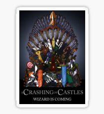 A Crashing of Castles Sticker